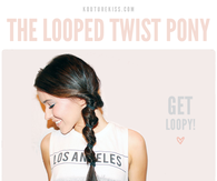 DIY Looped Twisty Pony