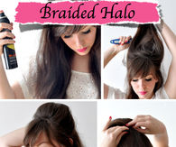 DIY Braided Halo