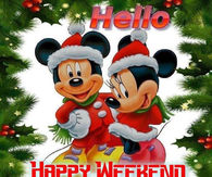 Hello Happy Weekend