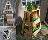 How to make a wooden herb stand