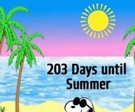 203 Days Until Summer