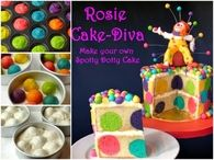 How to make spotty dotty cake