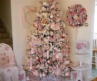Pink Shabby Chic Christmas Tree
