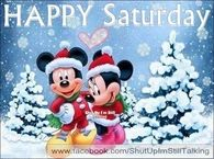 Christmas Disney Happy Saturday