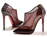 Sparkle Stiletto Holiday Party Pumps