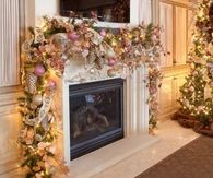Beautiful Mantle for Christmas