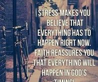 Stress and Faith