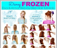 DIY Disney Frozen Hair