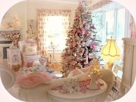 Pink Shabby Chic Christmas
