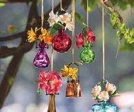 Hanging Flower Vases