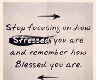 Stop Focusing On how Stressed