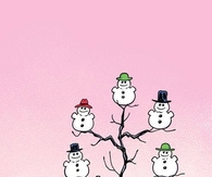 Woodstock and Snowmen
