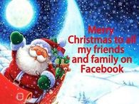 Merry Christmas Facebook Friends