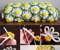 How to make a daisy blanket with a vintage feel