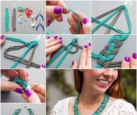 How to make a woven beaded necklace