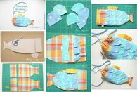 How to make a fabric fish purse