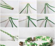 How to make an easy braided bracelet