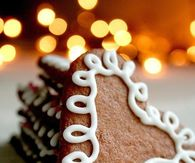 Gingerbread heart cookies