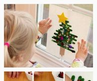 Kids Popsicle Tree Craft