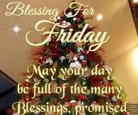 Blessings for Friday