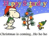 Christmas Saturday Snoopy