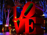 Love in Christmas Lights