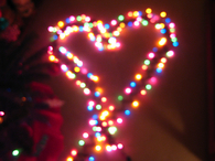 Christmas Heart Lights