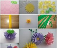 DIY Paper Asters