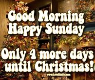 Good Morning Sunday Christmas