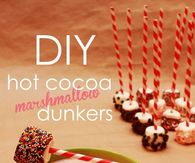 DIY Hot Cocoa Marshmallow Dunkers