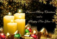 Have a Merry Christmas & a Happy New Year