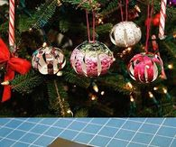 DIY Picture Ornaments