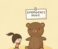 Emergency hugs