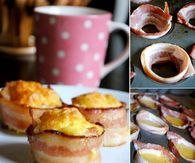 Recipes For Bacon and Egg Cup