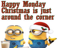Happy Monday Christmas Minions