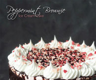 How to make Peppermint brownie ice cream cake