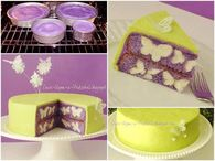 Create a butterfly surprise cake