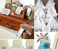 Airplane baby shower theme