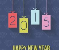 New Year's Day 2015 Photos, Wallpapers, Cards