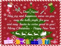 Merry Christmas Dear Friend