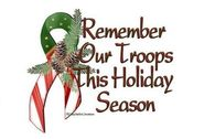 Remember Our Troops This Holiday Season