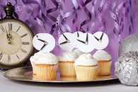 New Years Eve Party Cupcakes