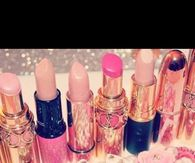 Pink Lipsticks and Accessories