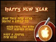 May this New Year bring a smile to your face....Happy New Year