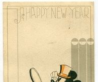 Vintage Mickey Happy New Year