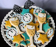 New Year's Eve Party Cookies