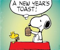 New Years Snoopy