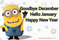 goodbye december hello january