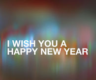 I wish you Happy New Year