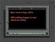 New Year's day 2015
